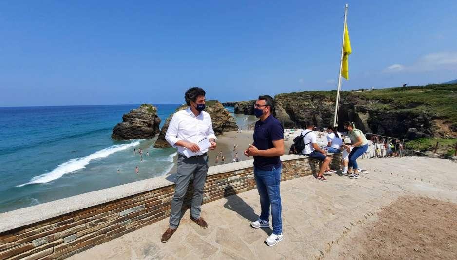 visita praia das Catedrais Delegado da Xunta